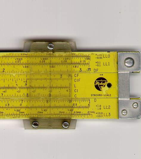 k&e slide rule manual